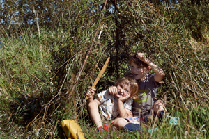 Children Den Building