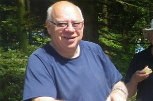 Volunteer Michael Glinn