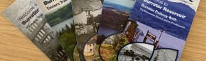 All five Burrator walking leaflets