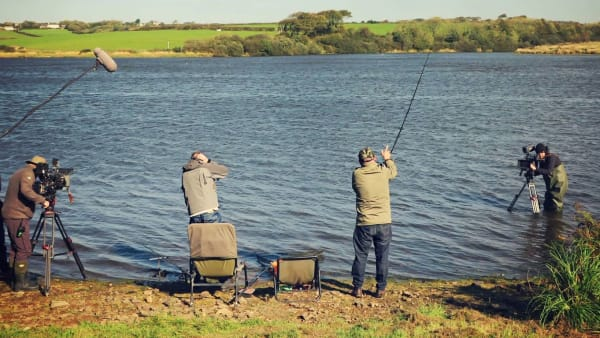 Bob Mortimer and Paul Whitehouse Go Fishing at Upper Tamar