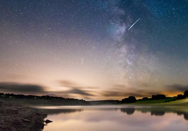 Dark Sky Friendly accreditation for work at Wimbleball Lake