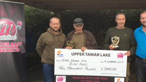 Woods and Ford win £2000 at Upper Tamar's Mainline Carp Open