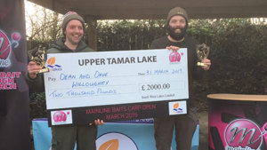First Mainline Baits Carp Open at Upper Tamar a Resounding Success