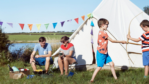 What to do on an outdoor family camping holiday in Cornwall, Devon and on Exmoor