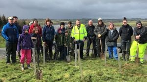 Thousands of trees planted to support nature in Devon